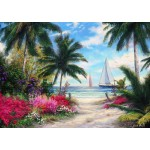 Puzzle  Grafika-T-00769 Chuck Pinson - Sea Breeze Trail