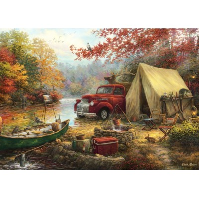 Puzzle Grafika-T-00778 Chuck Pinson - Share the Outdoors