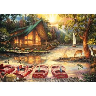 Puzzle Grafika-T-00779 Chuck Pinson - Seize the Day