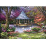 Puzzle  Grafika-T-00814 Chuck Pinson - Swan Pond