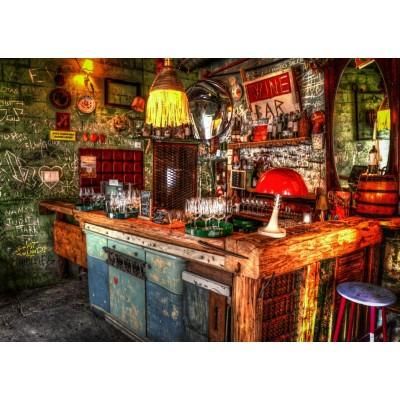 Puzzle Grafika-T-00839 Ruin Bar in Budapest