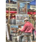Puzzle  Grafika-T-00846 Artiste de Rue, Paris, France
