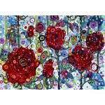 Puzzle  Grafika-T-00893 Sally Rich - Roses