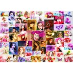 Puzzle  Grafika-T-00914 Collage - Femmes