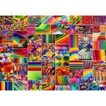 Puzzle  Grafika-T-00916 Collage - Couleurs