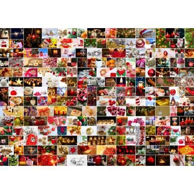Puzzle Grafika-T-00922 Collage - Noël