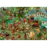 Puzzle  Grafika-T-00938 Safari Tribal