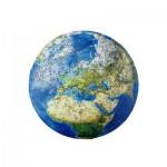 Harmandi-Puzzle-Creatif-90062 Puzzle en Bois - La Planète Terra