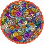 Harmandi-Puzzle-Creatif-90123 Puzzle en Bois - La Planète Marina