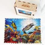 Harmandi-Puzzle-Creatif-90147 Puzzle en Bois - L'Oasis Corail