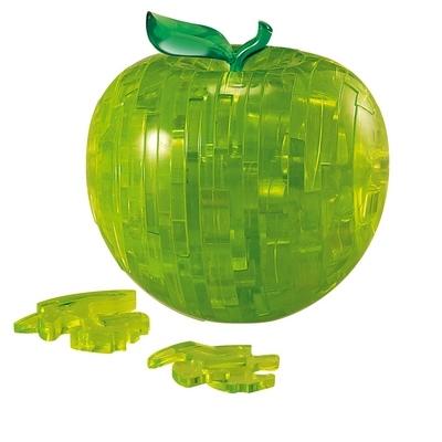 HCM-Kinzel-103025 Puzzle 3D en Plexiglas - Pomme Verte