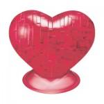 3D Crystal Puzzle - Coeur Rouge