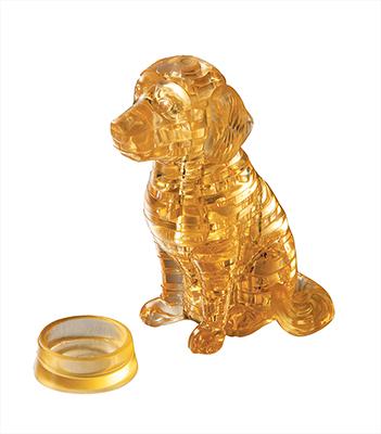 HCM-Kinzel-59122 Puzzle 3D en Plexiglas - Golden Retriever