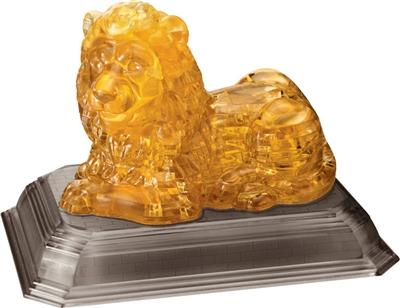 HCM-Kinzel-59123 Puzzle 3D en Plexiglas - Lion