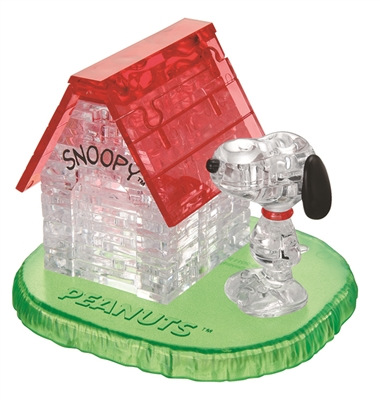 HCM-Kinzel-59133 Puzzle 3D en Plexiglas - La Maison de Snoopy