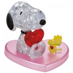 HCM-Kinzel-59184 Puzzle 3D en Plexiglas - Snoopy in Love