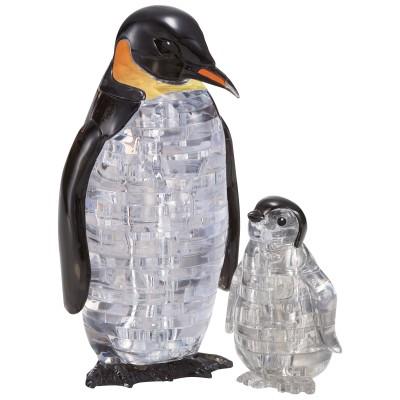 HCM-Kinzel-59187 3D Crystal Puzzle - Pingouins