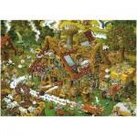 Puzzle  Heye-08832 Ryba : la drôle de ferme