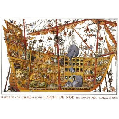 Puzzle Heye-25475 Loup Jean-Jacques : Arche de Noë
