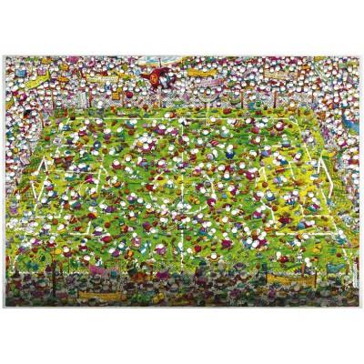 Puzzle Heye-29072 Mordillo : Folle coupe du monde