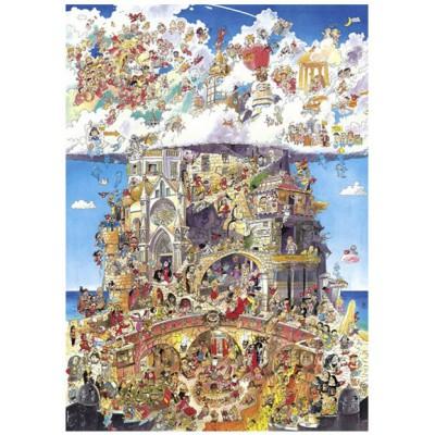 Puzzle Heye-29118 Prades : Paradis et Enfer