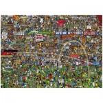 Puzzle  Heye-29205 Alex Bennett : Football History