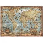Puzzle  Heye-29275 Carte du monde