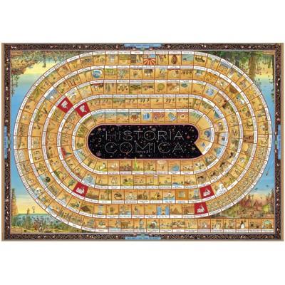 Puzzle Heye-29342 Degano : La spirale de l'histoire - Opus 2