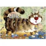 Puzzle  Heye-29569 La vie de chat