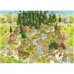 Puzzle  Heye-29638 Marino Degano : Habitat de la forêt noire
