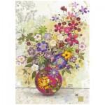 Puzzle  Heye-29664 Jane Crowther : Pink Vase
