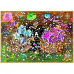 Puzzle  Heye-29699 Mordillo Guillermo : The Kiss