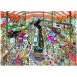 Puzzle  Heye-29730 Christoph Schöne: Train Station
