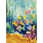 Puzzle  Heye-29779 Lovely Times, Shoal of Fish