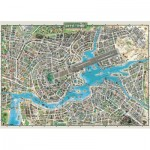 Puzzle  Heye-29844 City of Pop