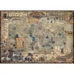 Puzzle  Heye-29847 Monde des Pirates