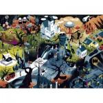 Puzzle  Heye-29882 Alexandre Clérisse - Tim Burton Films