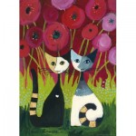 Puzzle  Heye-29900 Rosina Wachtmeister - Poppy Canopy