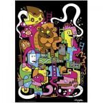 Puzzle  Heye-70168-29483 Jon Burgerman : Meilleur score