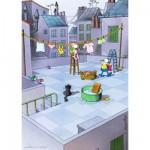 Puzzle  Heye-70168-29500 Mordillo : Nettoyage