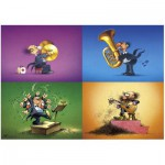 Puzzle  Heye-70168-29501 Degano : Les musiciens