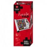 Heye-80589 Tapis de Puzzles 500 à 2000 Pièces