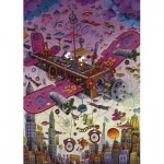 Puzzle   Guillermo Mordillo - Fly With Me!
