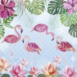 Puzzle   Turnowsky - Flamingos & Lilies