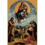 Puzzle  Impronte-Edizioni-038 Raffaello - La Vierge de Foligno