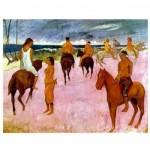 Puzzle  Impronte-Edizioni-049 Paul Gauguin - Cavaliers sur la Plage