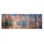 Puzzle  Impronte-Edizioni-125 Lorenzetti - Allégorie et effets du Bon et du Mauvais Gouvernement
