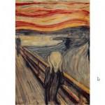 Puzzle  Impronte-Edizioni-136 Edvard Munch - Le Cri