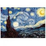 Puzzle  Impronte-Edizioni-154 Vincent Van Gogh -  Nuit Etoilée sur le Rhône