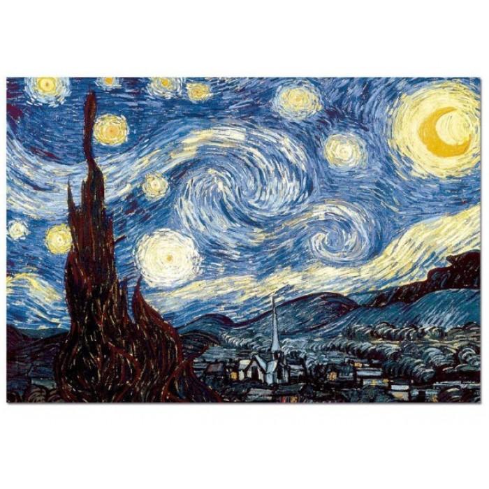 Vincent Van Gogh -  Nuit Etoilée sur le Rhône